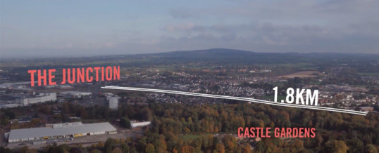 Aerial Filming for Animation Application – Antrim, NI