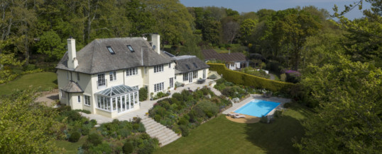 Estate Agents Utilising Drone Photography, Cornwall