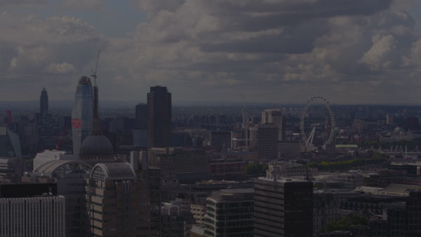 London skyline & London Eye