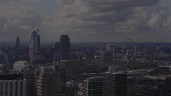 London skyline & London Eye