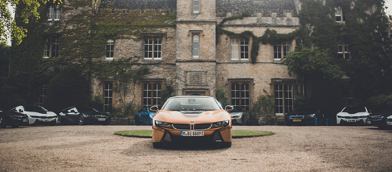 BMW Commercial drone video and photography for BMW in the Cotswolds