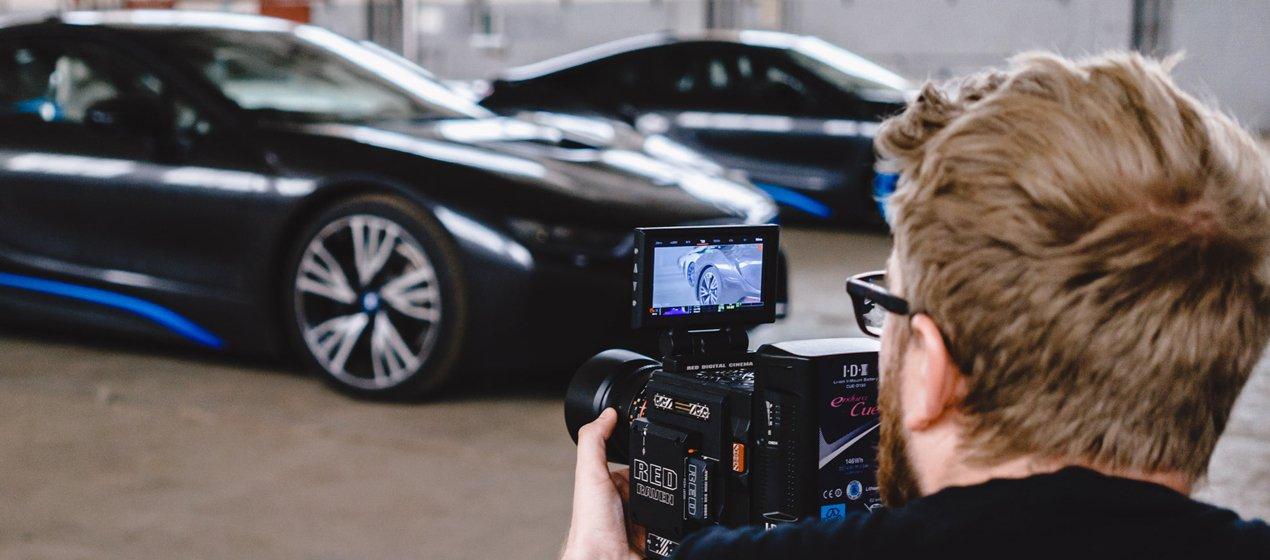 R3D Raven & BMW Filming