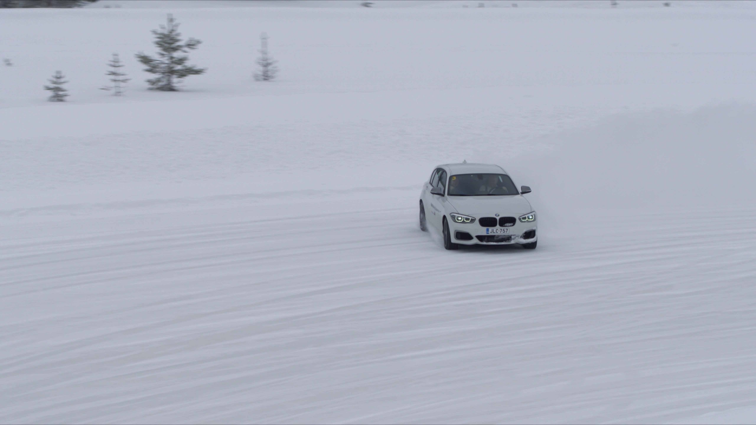 BMW Ice Drifting