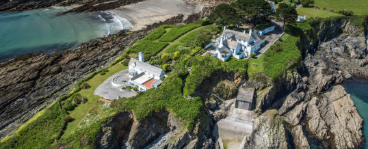 Chapel Point House aerial images featured in Daily Mail