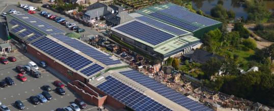 Clean Earth Energy Solar Installation @ Homeleigh Garden Centre