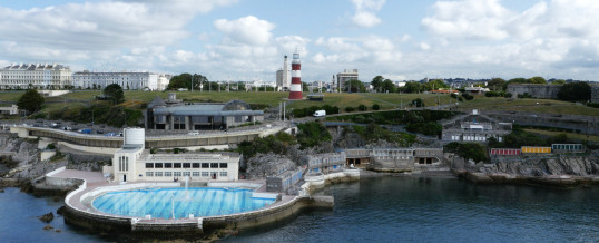 The Plymouth Hoe – Aerial Film