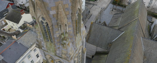 Plymouth Cathedral Aerial Survey & Inspection