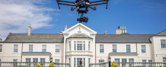 Seaham Hall Aerial Film & Photography