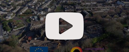 ERDF Convergence Aerial Filming – Redruth, Cornwall