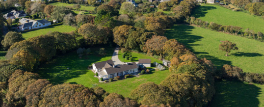 Aerial Photography Used For Boosting Property Marketing In Cornwall