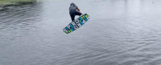 Nick Davies at Retallack Wake Park – Aerial Film