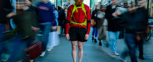 Sean Conway Running Britain – Drones In TV